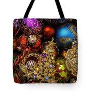 Christmas Beauty Tote Bag