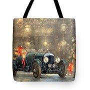 Christmas Bentley Tote Bag