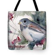 Christmas Birds 01 Tote Bag