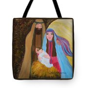 Christmas Blessing Tote Bag