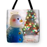 Christmas Blessings Tote Bag