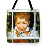 Christmas Boy Tote Bag