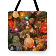 Christmas Branches Tote Bag