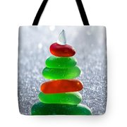 Christmas By The Sea Tote Bag