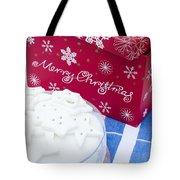 Christmas Cake Tote Bag by Anne Gilbert