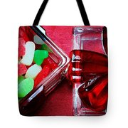 Christmas Candy - Candy Dish - Sweets - Treats Tote Bag