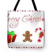 Christmas Card 25 Tote Bag
