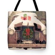 Christmas Car Card Tote Bag