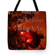 Christmas Card 4 Tote Bag