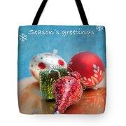 Christmas Card 6 Tote Bag