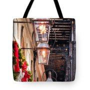 Christmas Card New Orleans Tote Bag