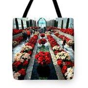 Christmas Card Sunken Garden Tote Bag