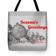 Christmas Cards And Artwork Christmas Wishes 55 Tote Bag
