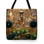 Christmas Chandelier Tote Bag