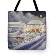 Christmas Corral Tote Bag