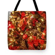 Christmas Dazzle Tote Bag