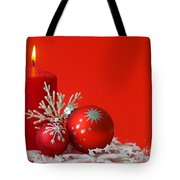 Christmas Decoration Background Tote Bag