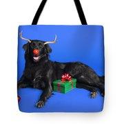 Christmas Dog Tote Bag