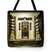 Christmas Door 2 Tote Bag