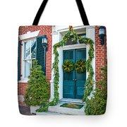 Christmas Door 6 Tote Bag