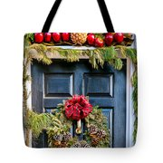 Christmas Door 8 Tote Bag