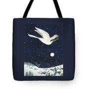 Christmas Dove Tote Bag