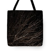 cHRISTMAS eVE sNOW Tote Bag