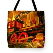 Christmas Express Tote Bag