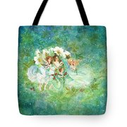 Christmas Fairies Tote Bag by Lynn Bywaters