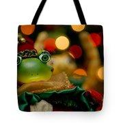 Christmas Frog Tote Bag