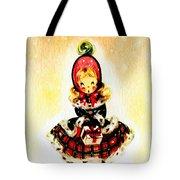 Christmas Girl Tote Bag