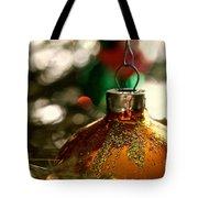 Christmas Gold Tote Bag