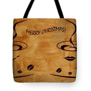 Christmas Greeting Tote Bag
