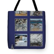 Christmas Greetings From The Coast Tote Bag