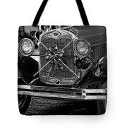 Christmas Grillwork - Bw Tote Bag