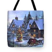 Christmas Homecoming Tote Bag