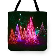 Christmas Hues Tote Bag