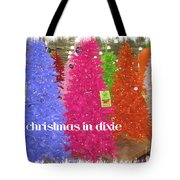 Christmas In Dixie Tote Bag