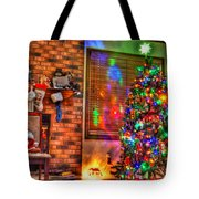 Christmas In Hdr Tote Bag