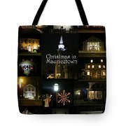 Christmas In Mauricetown  Tote Bag