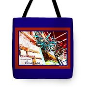 Christmas In Small Town America Tote Bag