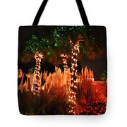 Christmas In The Sand Tote Bag