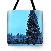 Christmas In The Valley Tote Bag