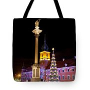 Christmas In Warsaw Tote Bag by Artur Bogacki