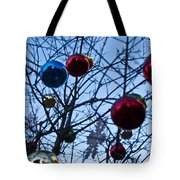 Christmas Is Looking Up This Year Tote Bag
