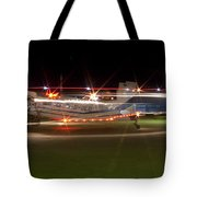 Christmas Light Porter Tote Bag