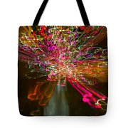 Exploding   Lights  Tote Bag