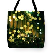Christmas Lights In Oxford Streeet Tote Bag