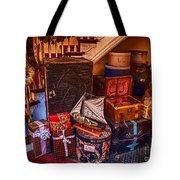 Christmas Luggage Color Tote Bag