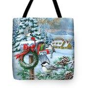 Christmas Mail Tote Bag